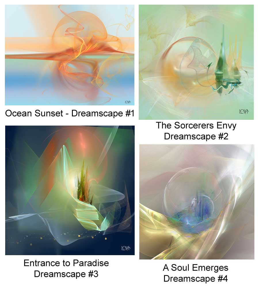 Dreamscapes for the Bahamas. Copyright. ILIA. All Rights Reserved.